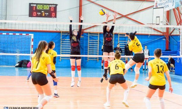 Volei feminin : Dacia Mioveni, victorii pe linie la primul turneu din seria E