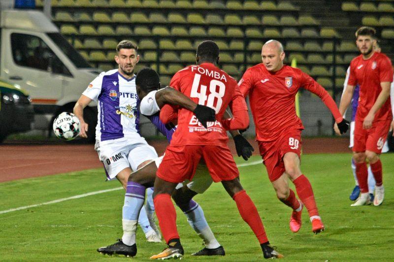 FC Argeş joacă astăzi al doilea joc consecutiv din play-out pe arena proprie