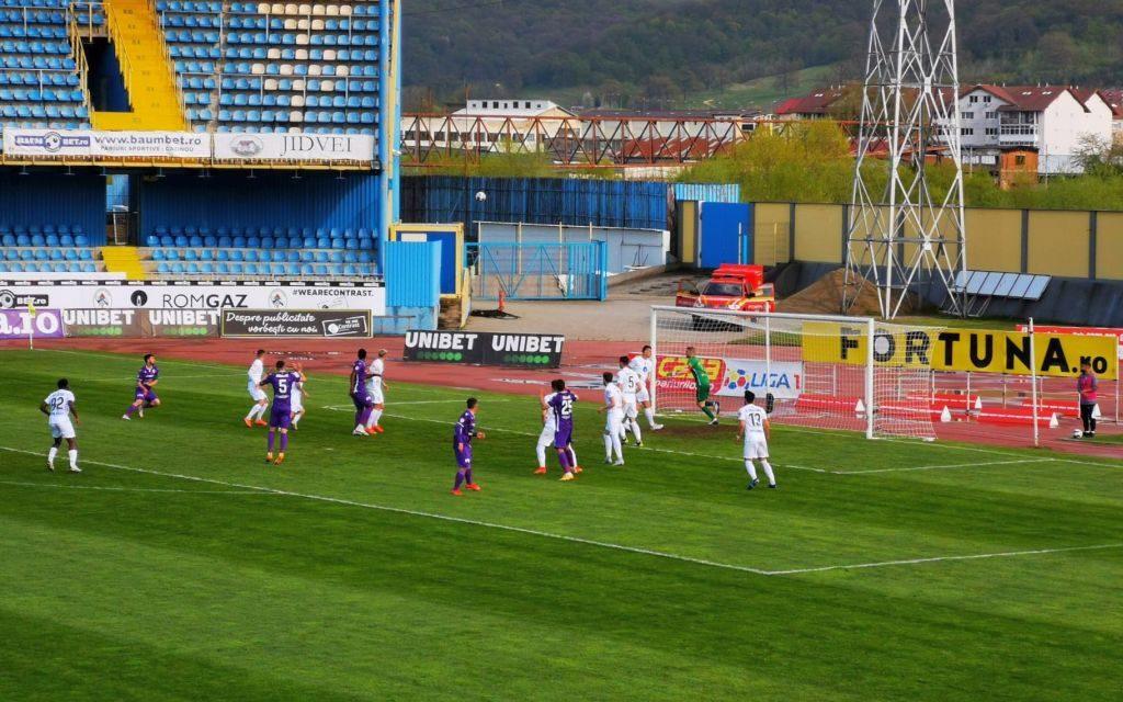 Gaz Metan Mediaş – FC Argeş 1-1 , în runda a cincea din play-out