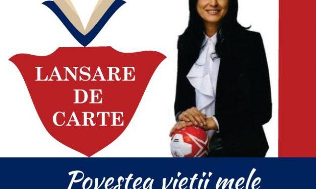 Narcisa Lecuşanu îşi lansează cartea autobiografică la Universitatea din Piteşti