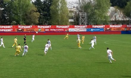 Rapid Bucureşti  – CS Mioveni, scor 1-1, în play-out-ul Ligii a II-a