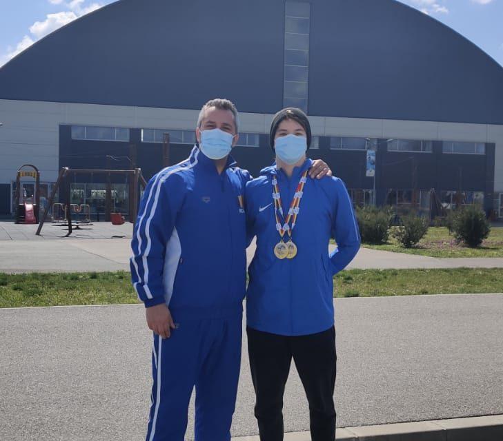 Mihai Iacob, record naţional la 200 bras, în cadrul Cupei României de la Târgovişte