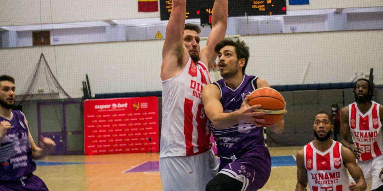 BCM U FC Argeș i-a spulberat speranțele de play-off lui Dinamo, învingând categoric cu 100-75