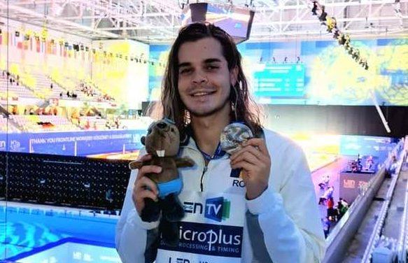 Robert Glință, AUR la Europenele de natație în proba de 100 metri spate!