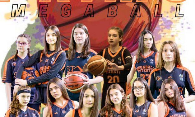 Primo Megaball Piteşti participă în premieră la un turneu final de baschet feminin
