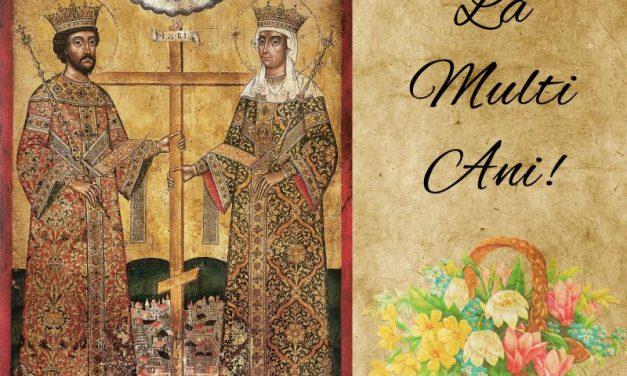 (P) Felicitare de Sf. Constantin și Elena – Servicii Edilitare pentru Comunitate Mioveni