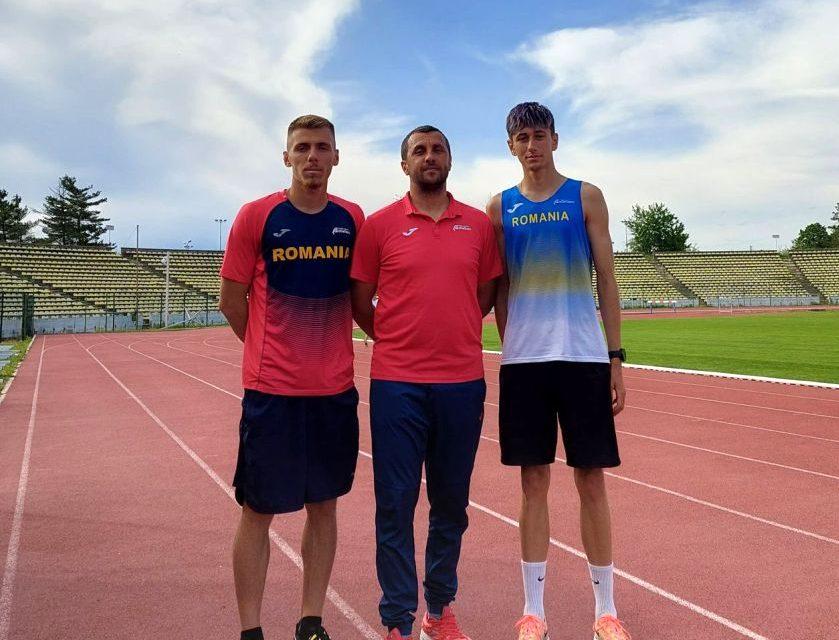 Piteştenii Mihai Sorin Poponea şi Robert Mihai Dumitru vor lua startul la Balcaniada de atletism de la Istanbul