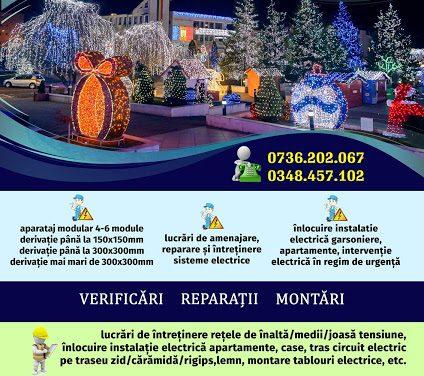 (P) S.Ed.C. Mioveni: Specialiști la dispoziția dumneavoastră! Servicii profesionale pentru toate tipurile de instalații electrice