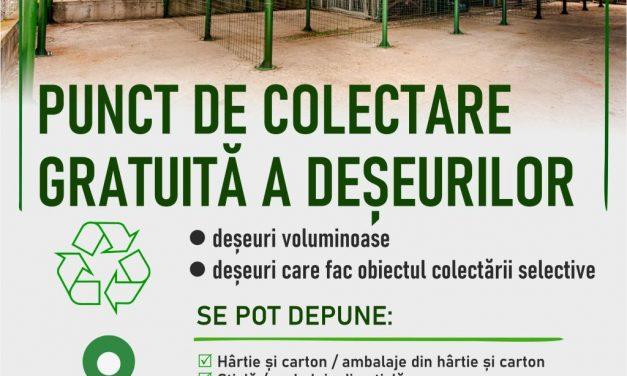 (P) PRECIZĂRI cu privire la condițiile de predare a deșeurilor în punctul de colectare de la Stația de Epurare a orașului Mioveni