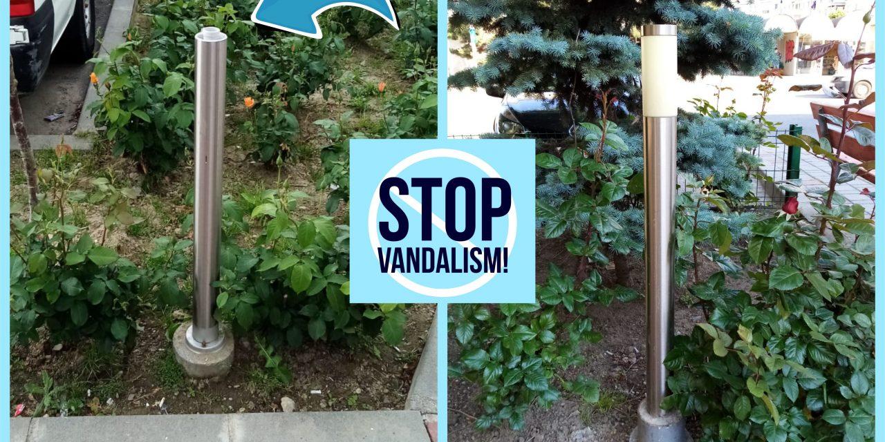 (P) Noi acte de vandalism pe Bulevardul Dacia