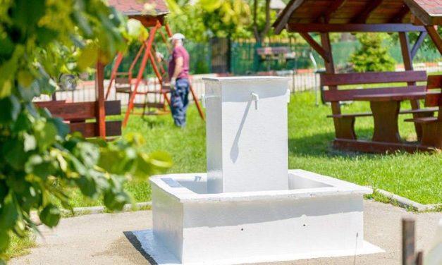 (P) Fântâna publică de pe strada Valea Neagră – Colibași este, de astăzi, din nou funcțională