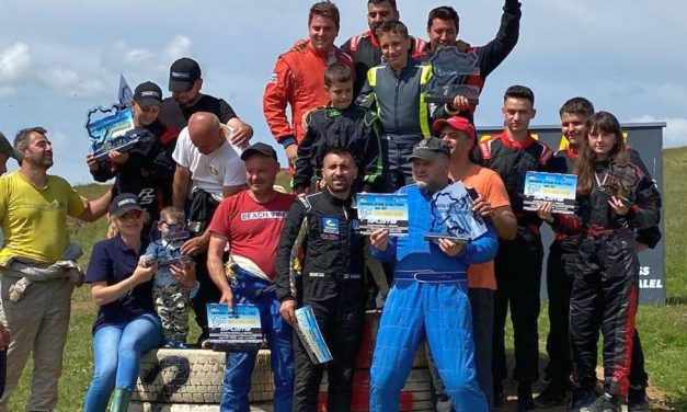 RB Racing s-a clasat pe locul 3 la etapa de rallycross de la Sibiu