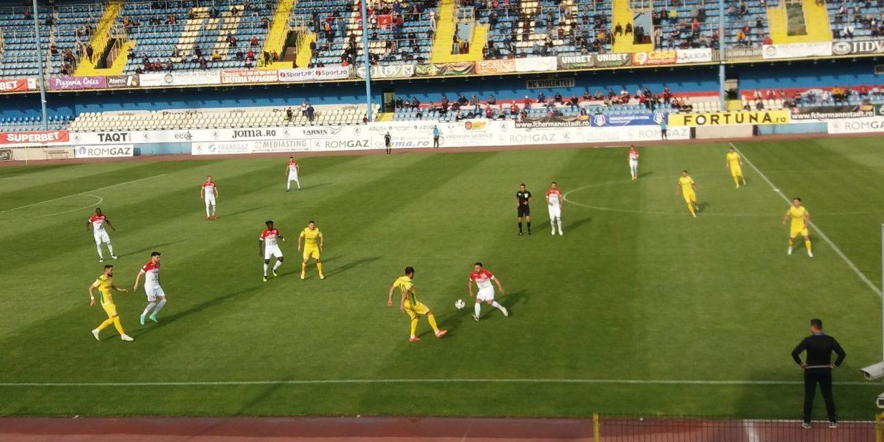 Hermannstadt – CS Mioveni 1-2, argeşenii promovează astfel în Liga 1