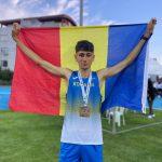 Mihai Robert Dumitru, bronz la 3000 m obstacole din cadrul Balcaniadei pentru juniori 1