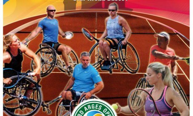 """A patra ediție a turneului """"BRD Argeș Wheelchair Tennis"""" se va desfășura între 4-7 august la Bascov"""