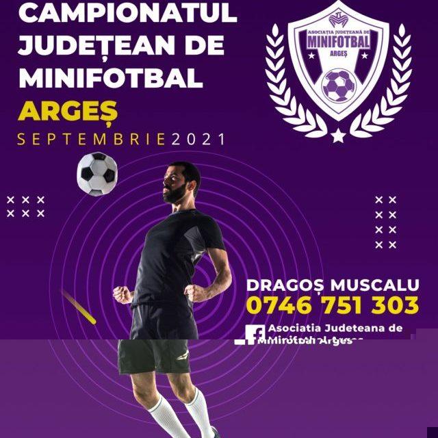 Prima ediţie a campionatului judeţean de minifotbal va începe în toamnă
