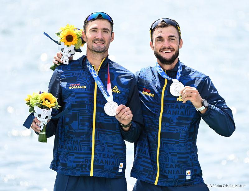 Echipajul de dublu rame masculin, format din Ciprian Tudosă şi Marius Cozmiuc, a câştigat medalia de argint la Jocurile Olimpice de la Tokyo – Cronica
