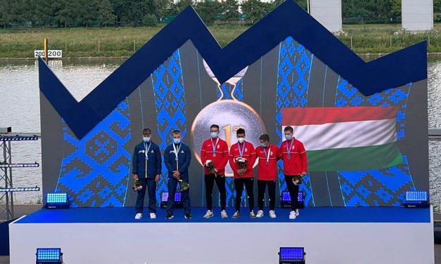 Canoiştii Adrian şi Victor Stepan(CSM Piteşti), argint pentru România la europeanul de maraton de la Moscova
