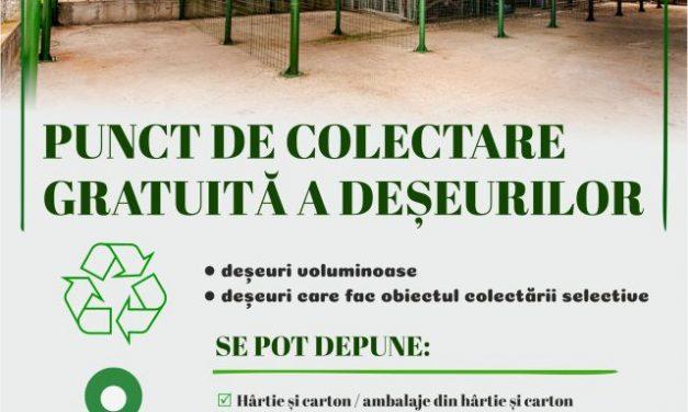 (P) SEdC – Deșeurile voluminoase trebuie depozitate la Punctul de Colectare de la Stația de Epurare