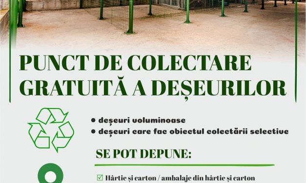 (P) Deșeurile voluminoase nu se depozitează la ghena de gunoi!