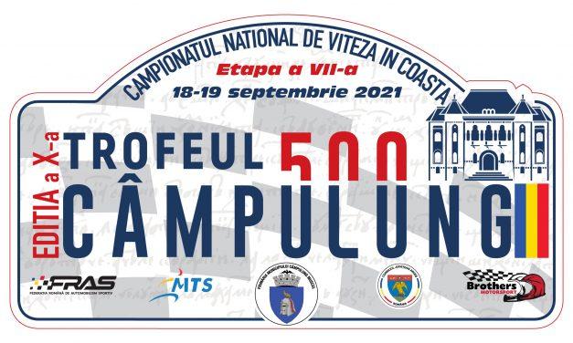 Competiţia automobilistică Trofeul Câmpulung 500 se va desfăşura pe 18 şi 19 septembrie