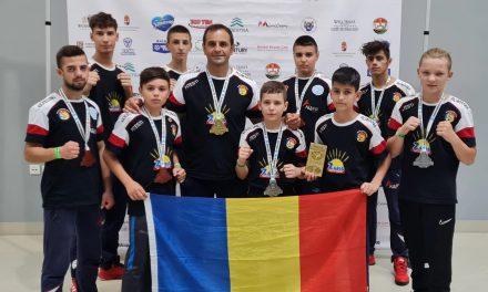 Sportivii de la Aleph Kickboxing din Piteşti s-au remarcat la ultima competiţie desfăşurată în Ungaria