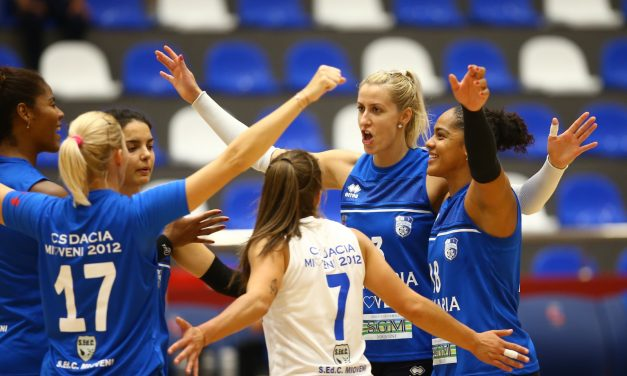 Campioana CSM Târgoviște a câștigat turneul amical de volei feminin de la Mioveni