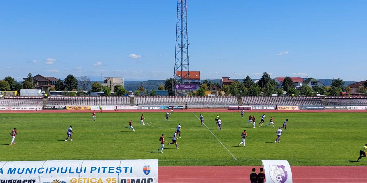 FC Argeş a remizat cu Rapid Bucureşti, scor 2-2, într-un meci amical