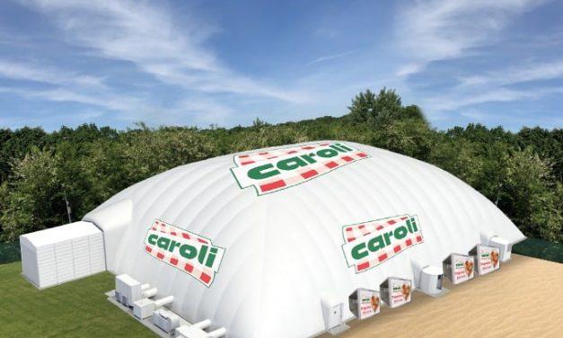 Caroli Foods Group, sponsorizare de 500.000 lei pentru acoperirea bazinului de înot din Costache Negri