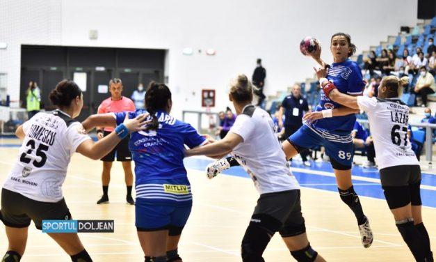 SCM Craiova – Dacia Mioveni 25-18, în runda a doua din Liga Florilor