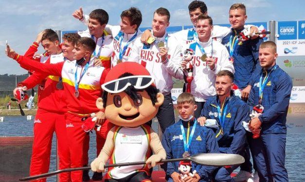 Canoiştii Adrian şi Victor Stepan( CSM Piteşti) au cucerit singurele medalii ale României la mondialul din Portugalia