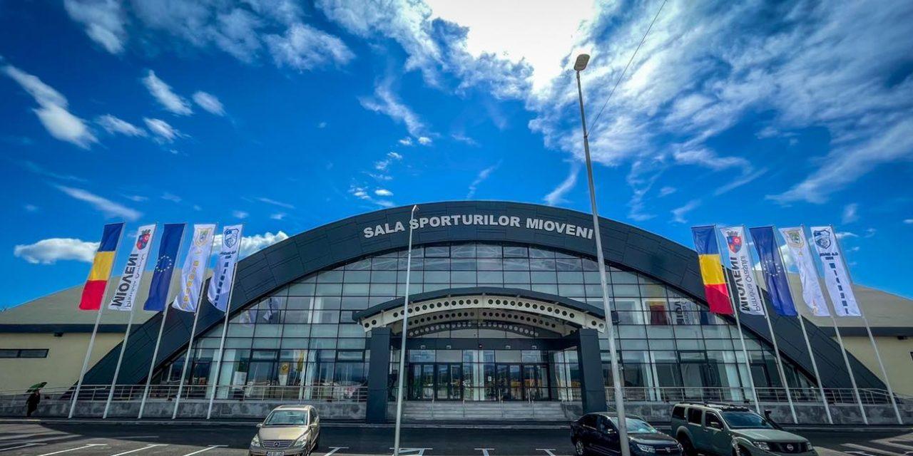 Sala Sporturilor din Mioveni va fi inaugurată cu meciuri de volei