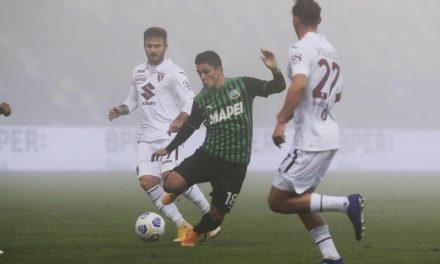 Etapa a patra din Serie A e deschisă de meciul Sassuolo vs Torino